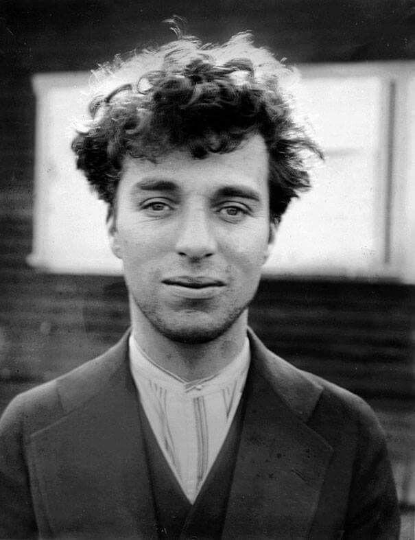 Charlie chaplin a sus 27 años 1916