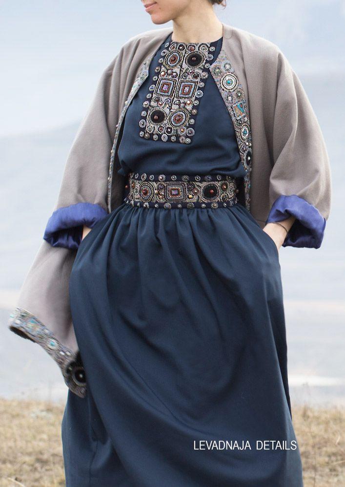 Костюм (юбка и блуза) из тонкой шерсти - наша классика LEVADNAJA DETAILS. www.levadnajadetails.com