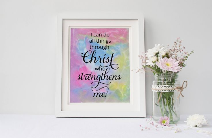 A personal favorite from my Etsy shop https://www.etsy.com/listing/526015998/i-can-do-all-things-through-christ-wall