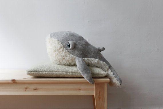 Petit Baleine Papy <O> Peluche <O> Doudou