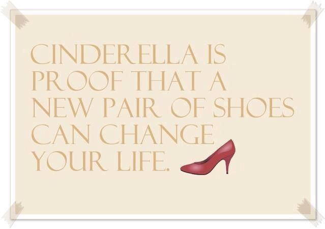 Shoes can change your life