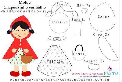 ARTESANATO COM QUIANE - Paps,Moldes,E.V.A,Feltro,Costuras,Fofuchas 3D: Moldes
