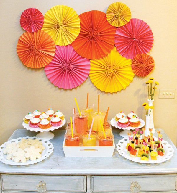 Birthday Table Top Decorations: 25+ Best Ideas About Yellow Party Decorations On Pinterest