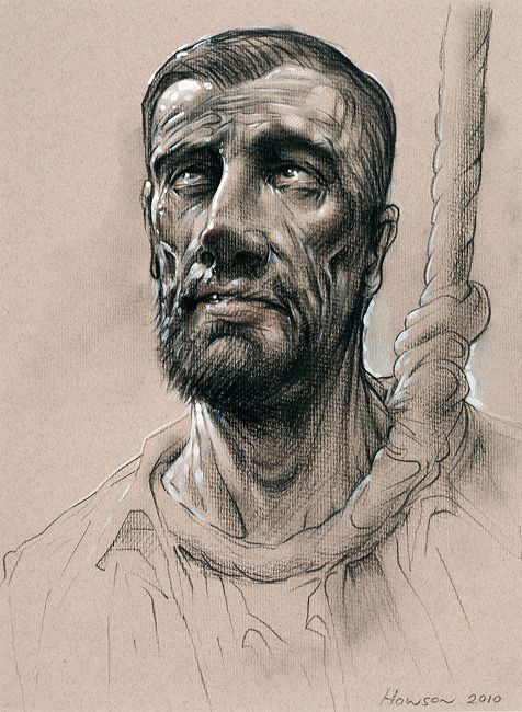 Holy Martyr, Peter Howson