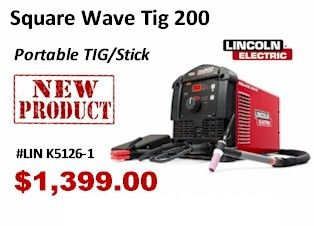 Square Wave Tig 200. Looking into getting this new tig welder.