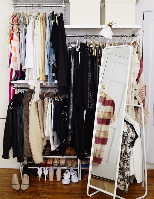 17 best ideas about dressing ouvert on pinterest dressing chambre rideaupa - Dressing ouvert ikea ...