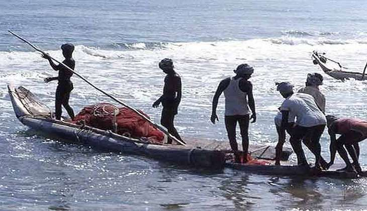 The body of a Tamil Nadu fisherman, who went missing along with another person after their fishing boat allegedly capsized near Pudukottai coast was washed ashore at Devipattinam hamlet near here today, fisheries department official said.The marine police identified the victim as Bhagyaraj(34) of Jegadapattinam