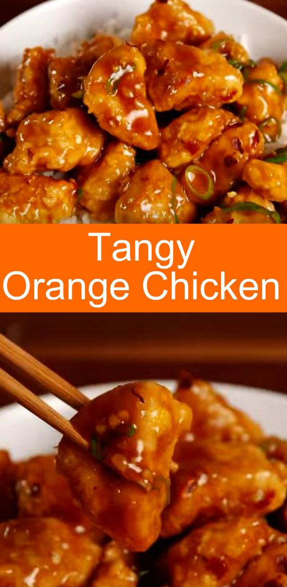 A tangy and crispy orange chicken that is better than any takeout recipe.