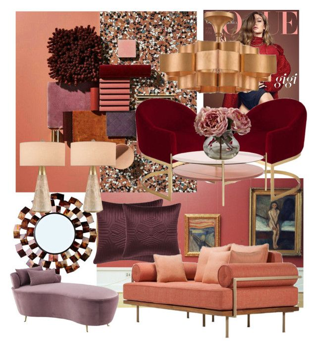 Turn the LIGHTS on by myhouse-myideas on Polyvore featuring polyvore interior interiors interior design home home decor interior decorating Eichholtz Joybird Currey & Company Ted Baker Nearly Natural