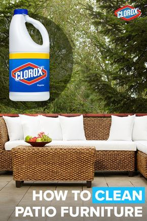 Sit Back And Enjoy The Great Outdoors Thanks To These Handy Tips For Cleaning Patio Furniture