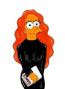 Grace Coddington Simpsons