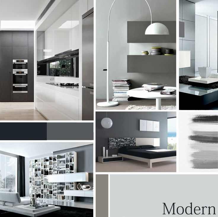 Moodboard Modern Style, by me!
