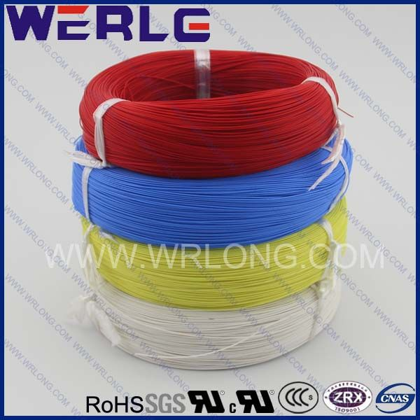 WERLE UL standard 4mm2 copper conductor pvc insulated wire  Anti high temperature: 105 centi degree  rated voltage: 600V