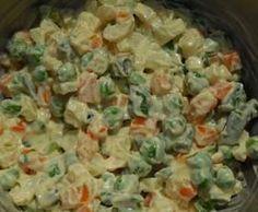 Recette Macédoine de légumes par Andrea_Ju - recette de la catégorie Entrées