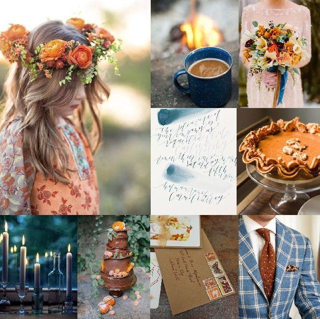 Barevné svatby: Koláž 87 : podzimní inspirace