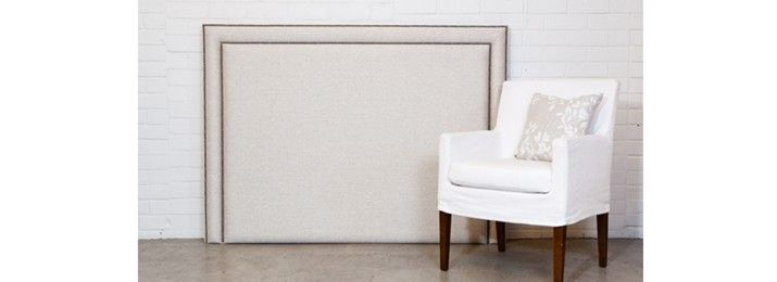 Dual studded headboard - Designers Collection
