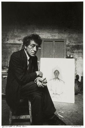 Robert Frank, Giacometti in Paris, 1962