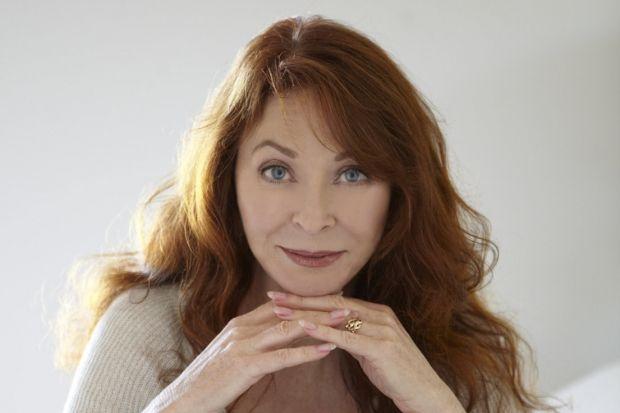 Actress Cassandra Peterson, Elvira's alter ego.