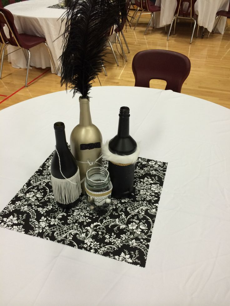 Gatsby centerpiece | Great Gatsby PROM 2014 | Pinterest ...