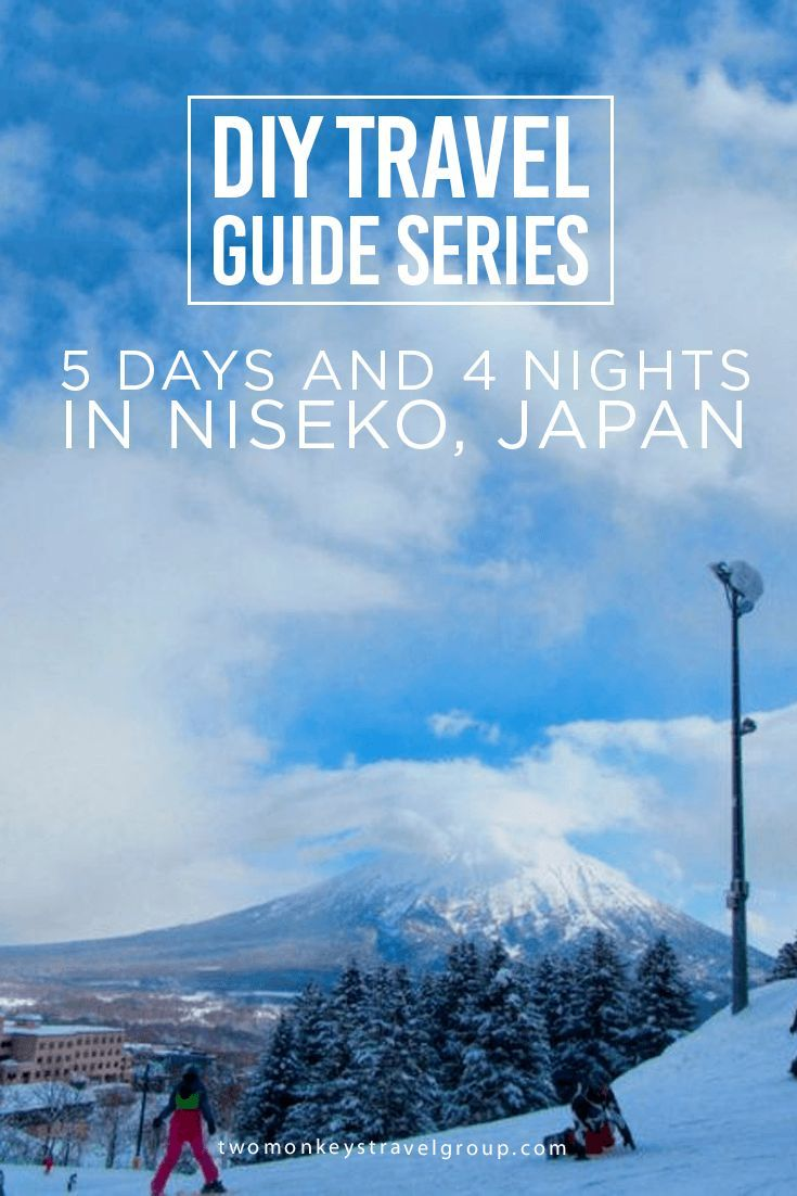DIY Travel Guide Series: 5 Days and 4 Nights in Niseko, Japan Niseko is an increasingly popular ski town on Japan's northern Hokkaido island, renown for some of the world's best and lightest powder snow.
