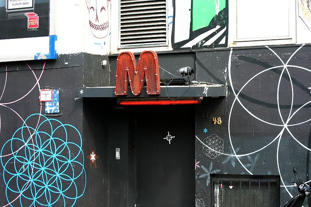 magnet #club #berlin this is an underground place be prepaired