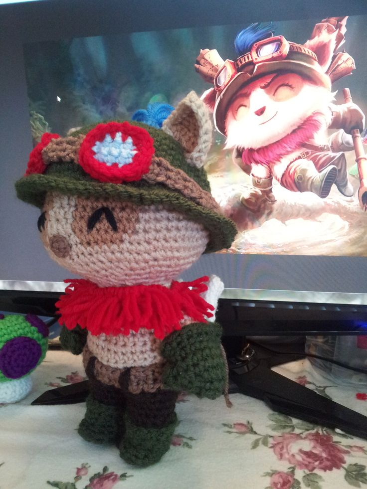 League of Legends - Teemo Pattern • ArtisticGaming