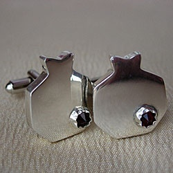 #pomegranate cufflinks from #armenia