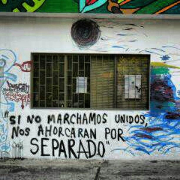 La marcha por el #Tipnis #Bolivia