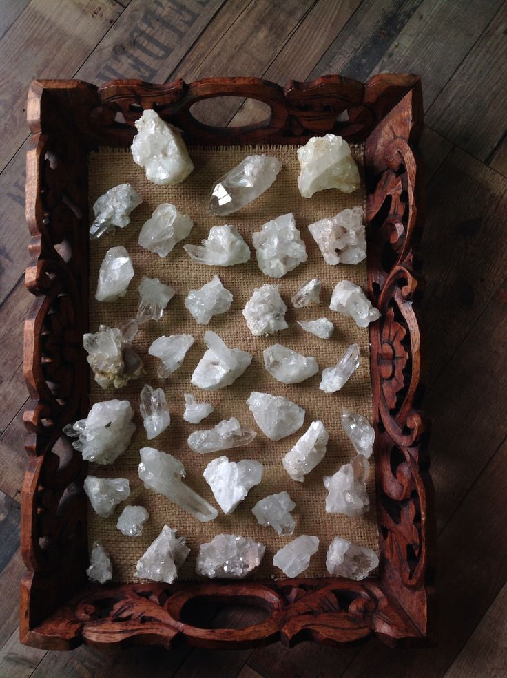 Delicate Quartz Clusters now back in store!