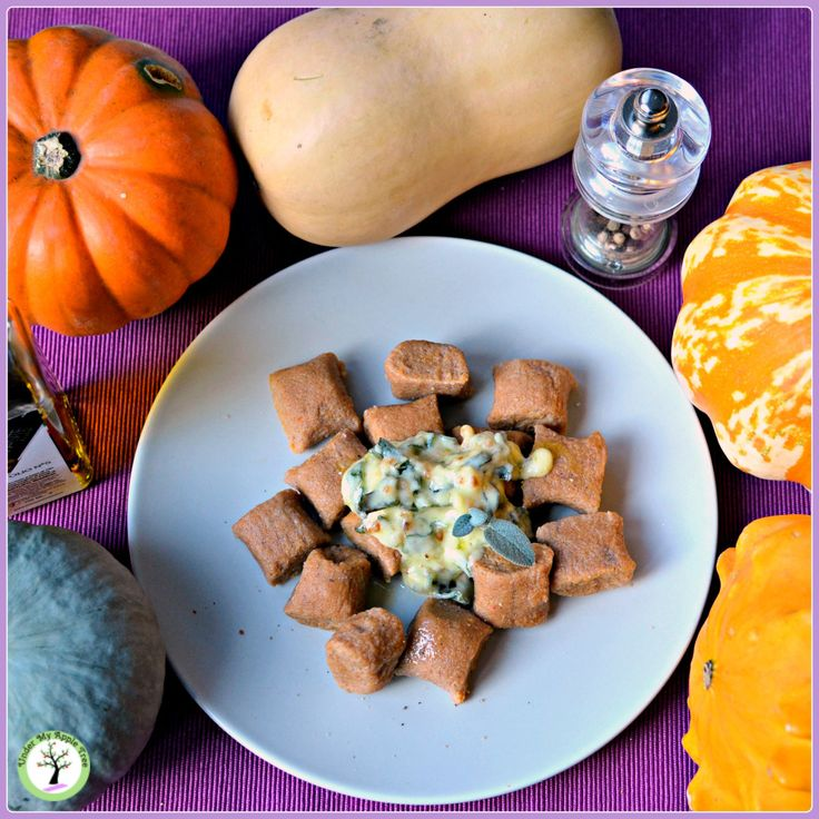 Gluten-free & vegan sweet potato, pumpkin and chestnut gnocchi recipe