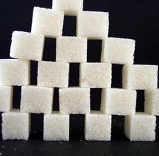 real sugar cubes at restaurants