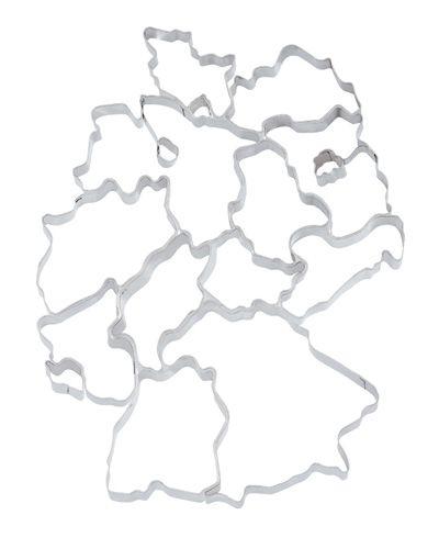 Ausstechform deutsche Bundesländer