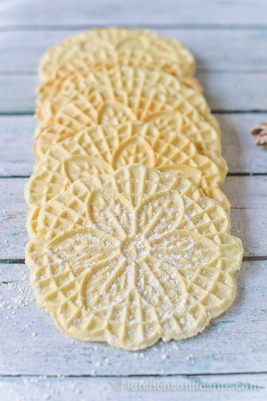 Pizzelle italian cookies