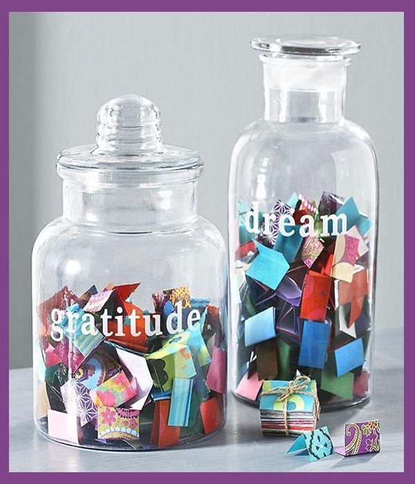 Gratitude/Dream jars