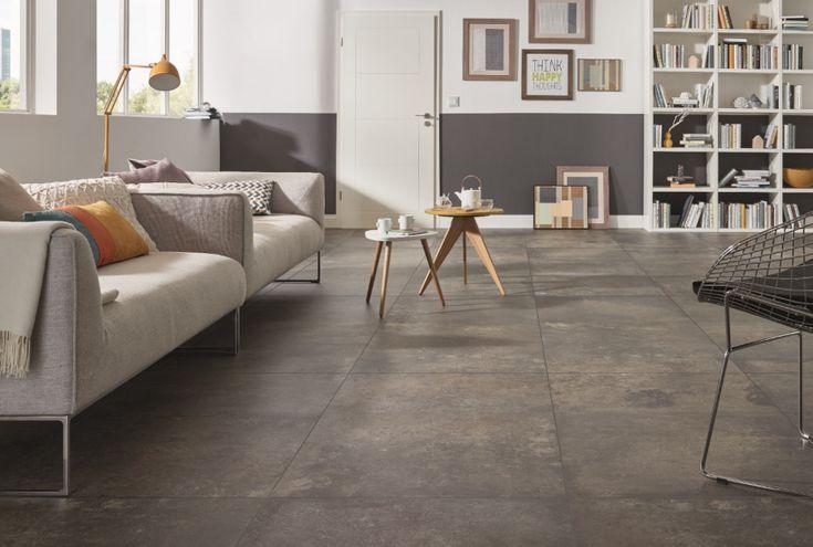 impermo moderne keramische vloertegel in aardetinten