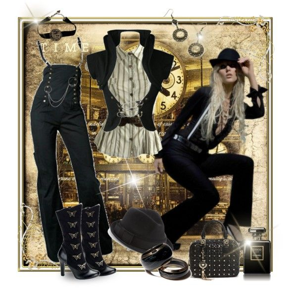 Steampunk 2012, created by melina-333 on Polyvore