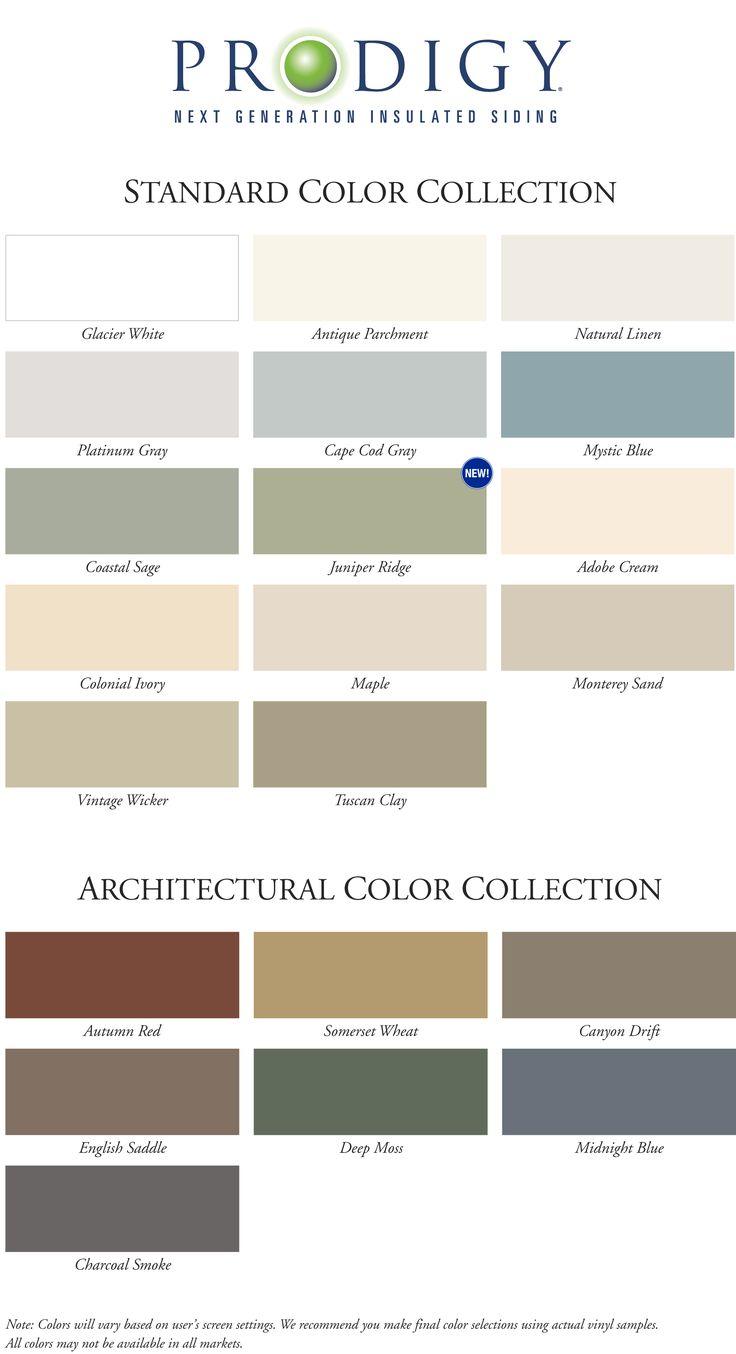 siding colors  Juniper Or sage                                                                                                                                                                                 More