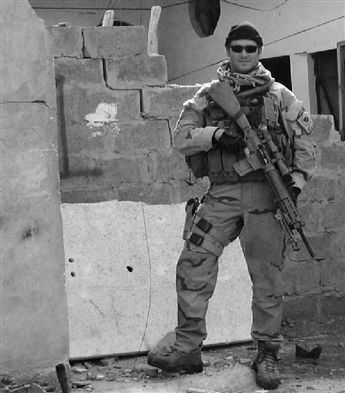 "SEAL Chris Kyle, author of ""American Sniper: The Autobiography of the Most Lethal Sniper in U.S. Military History."""