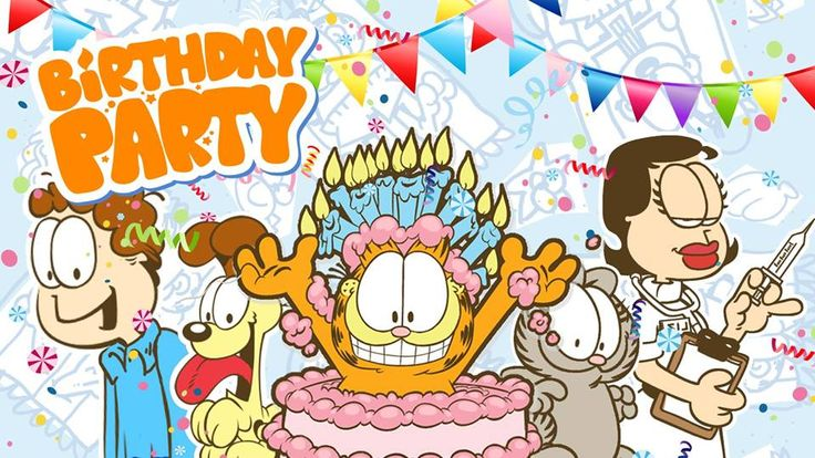 26 Best Images About Garfield Birthday Party On Pinterest