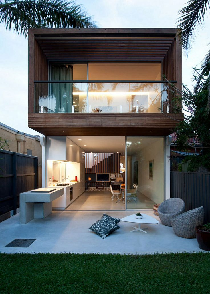 Modern compact house | Designs & Colors | Pinterest | Compact house, Modern  and House