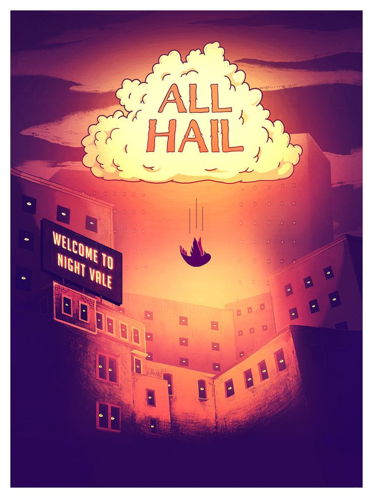 Excited to see the Night Vale live show All Hail!
