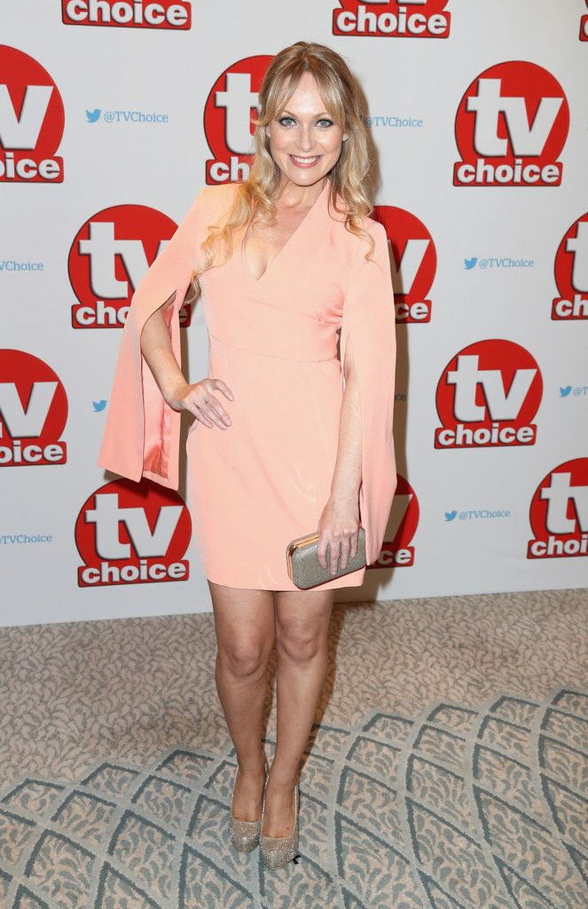 Michelle Hardwick arrives for the TV Choice Awards at The Dorchester on September 5, 2016 in London, England.