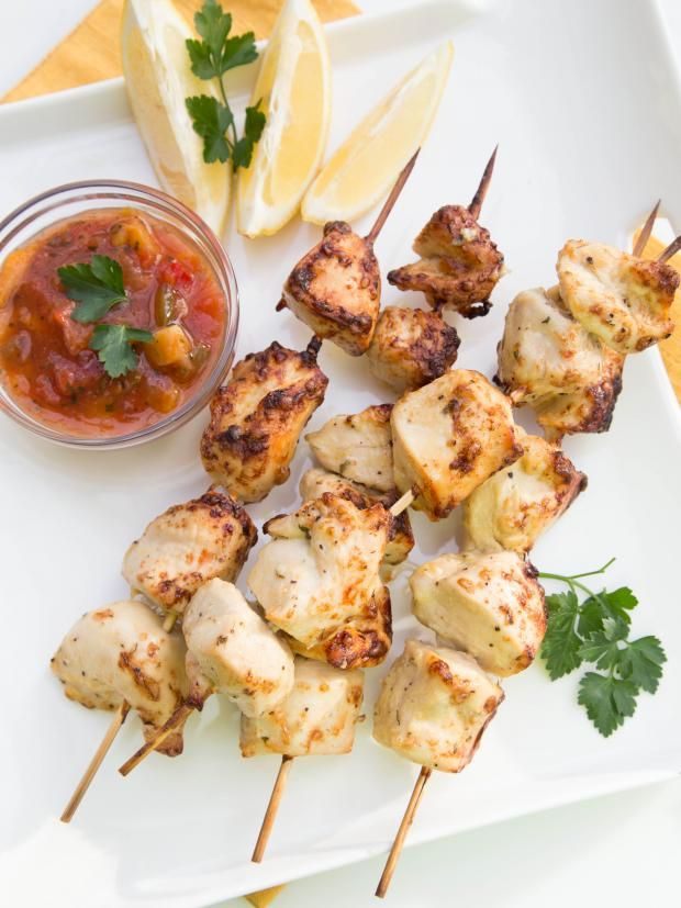 Куриные шашлыки Рецепт Рецепт