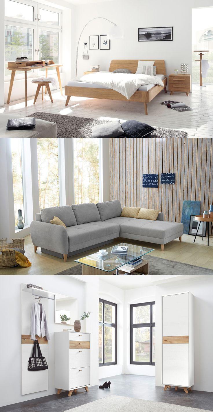Skandinavische Möbel | Möbel Im Skandinavischen Design überzeugen Mit  Klaren Linien, Hellem Holz Sowie Dezenten