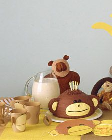 Let the little ones in on the fun! This shower is full of monkey business -- ideal for families with siblings eagerly waiting their kid sister or brother.