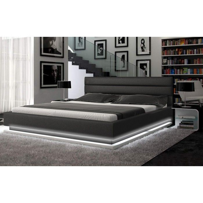 Add an ambient glow to your room with this platform bed by infinity. No more jamming your toes in the dark, or stepping on misplaced items- this bed will redesign your sleeping grounds by adding a contemporary flair.