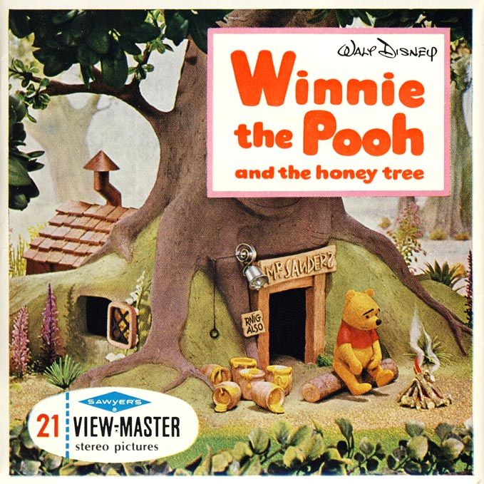 Cover from Winnie The Pooh And The Honey Tree Winnie the