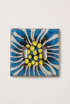 Chrysanthemum Double Switchplate