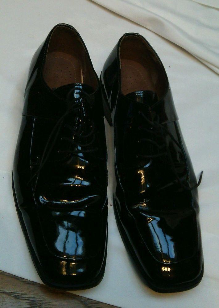 Stacy Adams 11M men's black dress shoes VGC #StacyAdams #Laceup