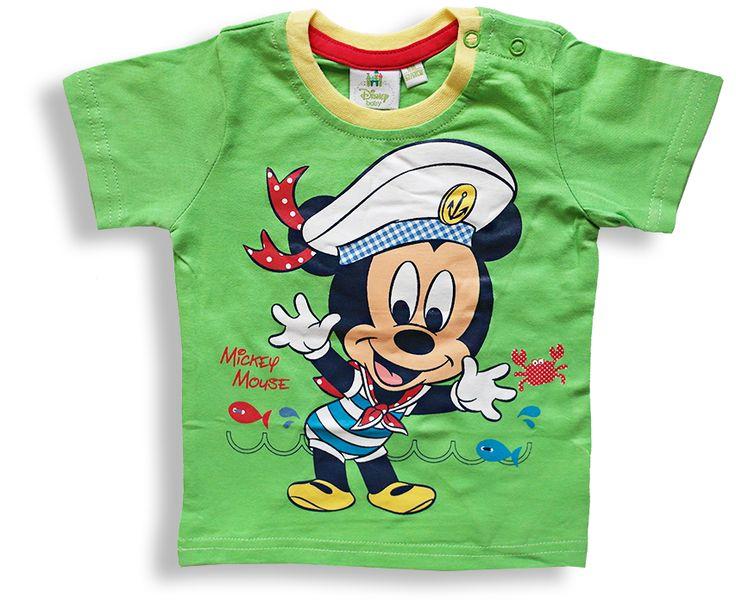 Chlapčenské tričko - MICKEY námorník http://www.milinko-oblecenie.sk/tricka-a-kosielky-pre-babatka/ #detsketricko #trickoprebabatka #kojeneckeoblecenie